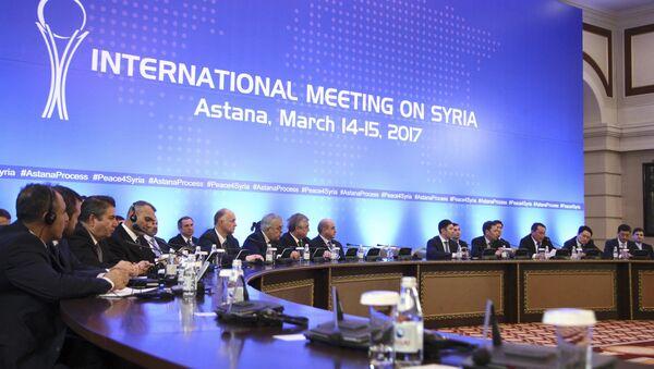 Učesnici međusirijskih pregovora u Astani - Sputnik Srbija