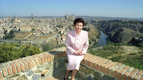 Naina Jeljcin, žena bivšeg predsednika  Rusije Borisa Jeljcina. - Sputnik Srbija