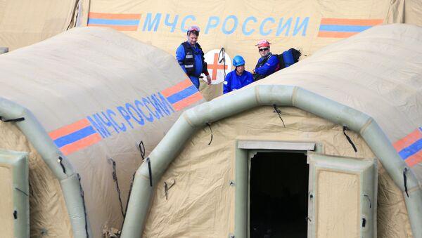 Jedinice Ministarstva za vanredne situacije Rusije (MČS) - Sputnik Srbija