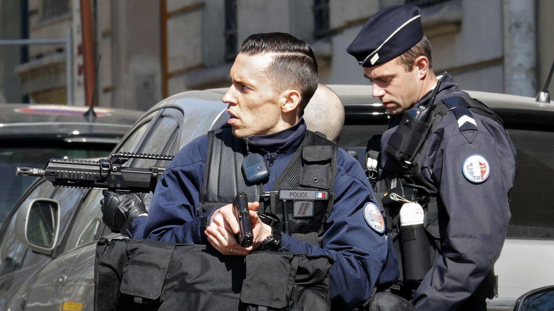 Париска полиција после експлозије у ММФ-у - Sputnik Србија, 1920, 29.07.2021