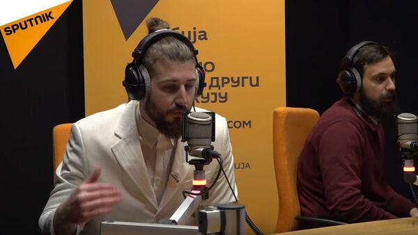 Бели Прелетачевић и Небојша Прилепак - Sputnik Србија