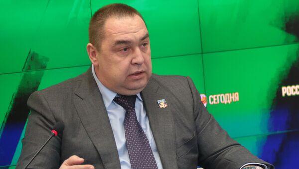 Lider LNR Igor Plotnicki na konferenciji za medije u Simferopolju - Sputnik Srbija
