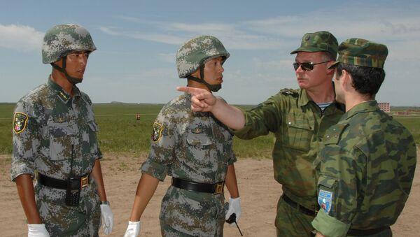 Војне вежбе Русије и Кине Мирнодопска мисија-2009 - Sputnik Србија