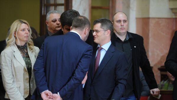 Saša Janković i Vuk Jeremić - Sputnik Srbija