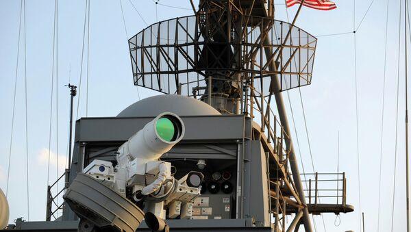Lasersko oružje na brodu Ju-Es-Es Pons - Sputnik Srbija