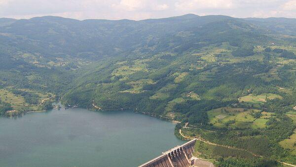 Brana i jezero Perućac na Drini - Sputnik Srbija