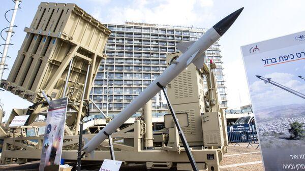 Gvozdena kupola je izraelski protivraketni odbrambeni sistem - Sputnik Srbija