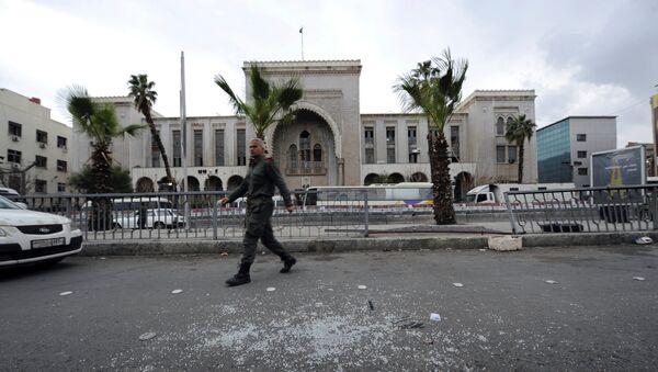 Palata pravde nakon samoubilačkog napada u Damasku - Sputnik Srbija