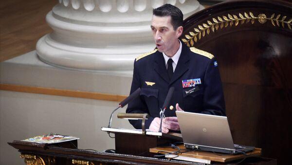 Генерал Микаел Биден, Главни командант Оружаних снага Шведске - Sputnik Србија