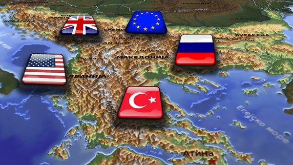 Балкан - илустрација - Sputnik Србија