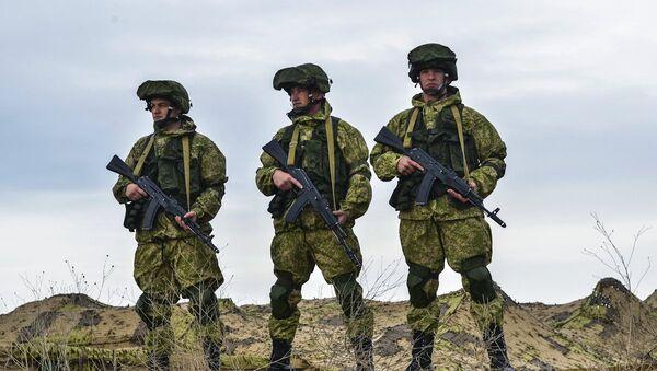 Војне вежбе на Криму - Sputnik Србија