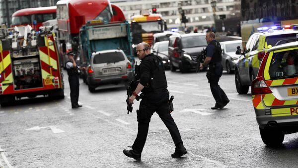 Policija posle pucnjave u Londonu 22.03.2017. - Sputnik Srbija