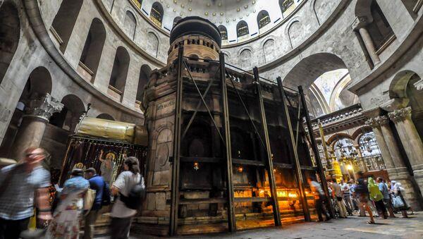 Edikul, mesto na kome se veruje da se nalazi Hristov grob - Sputnik Srbija