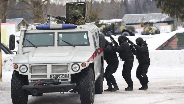 Припадници руске Националне гарде - Sputnik Србија