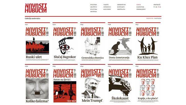 Скриншот сајта www.portalnovosti.com - Sputnik Србија