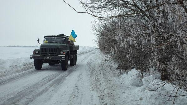 Vozilo ukrajinske vojske - Sputnik Srbija