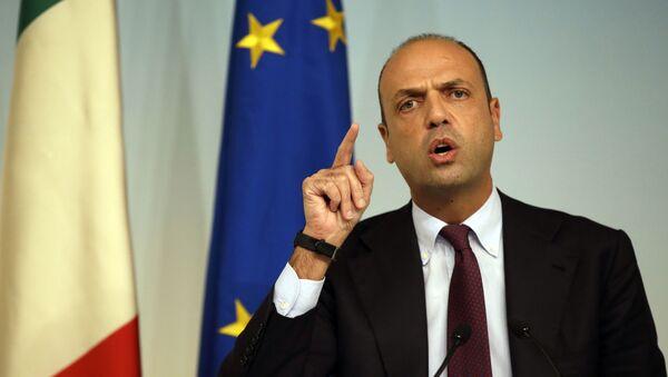 Ministar inostranih poslova Italije Anđelino Alfano - Sputnik Srbija