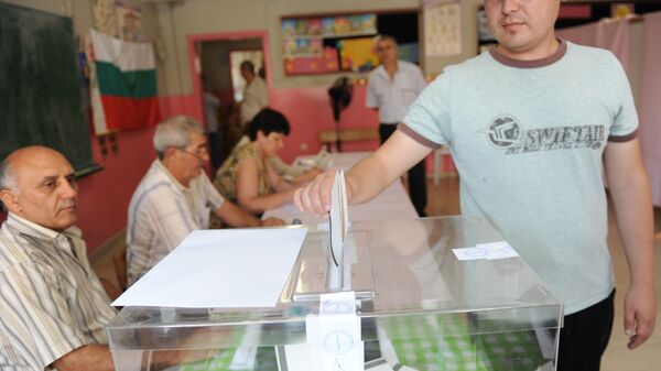 Glasanje na opštim izborima u Bugarskoj - Sputnik Srbija