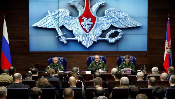 Brifing zamenika ministra odbrane Rusije Aleksandra Fomina - Sputnik Srbija