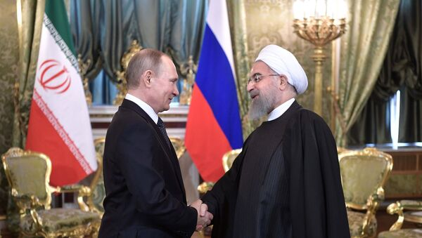 Владимир Путин и Хасан Рохани - Sputnik Србија