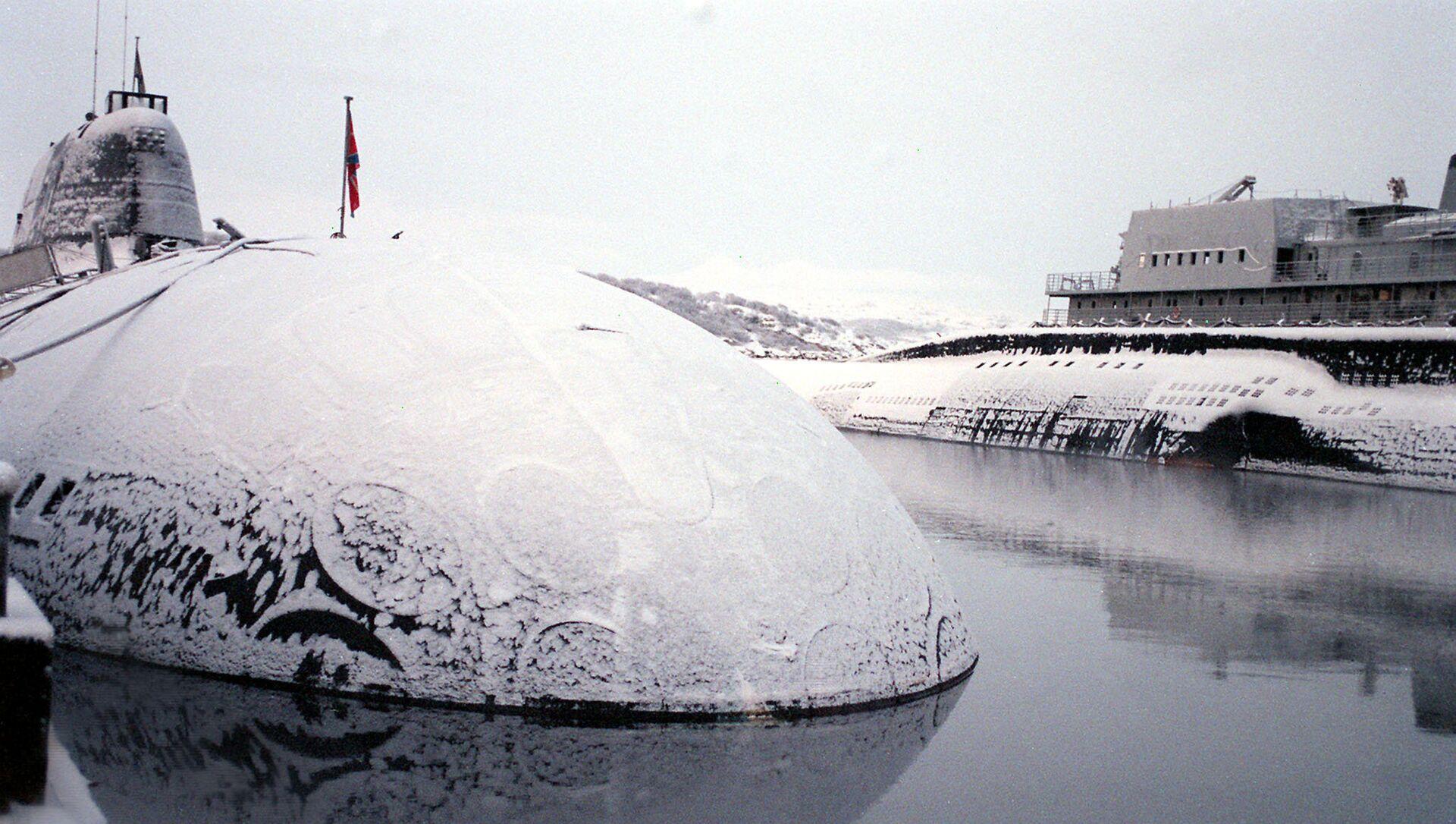 Атомска подморница Северне флоте Русије - Sputnik Србија, 1920, 23.05.2021