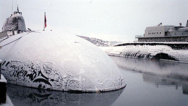 Atomska podmornica Severne flote Rusije - Sputnik Srbija