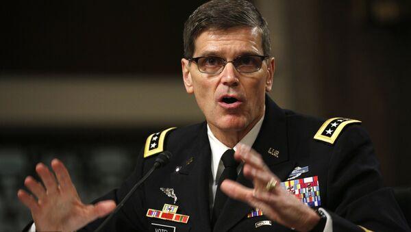 Američki general Džozef Votel govori pred Odborom za oružane snage američkog Senata - Sputnik Srbija