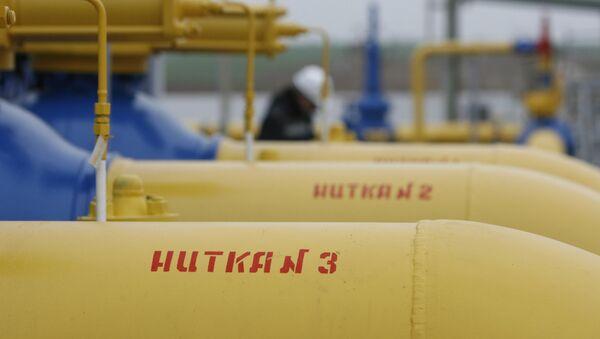 Linije gasovoda stanice Zapadna u Minskom okrugu - Sputnik Srbija