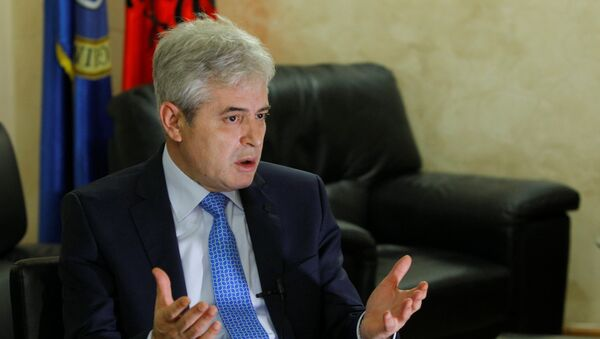 Ali Ahmeti - Sputnik Srbija