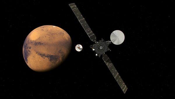 Orbiter EgzoMars prilazi planeti Mars - Sputnik Srbija