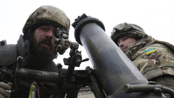 Украјинска војска у Донбасу - Sputnik Србија