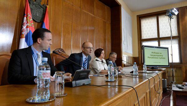 Седница РИК-а, председнички избори у Србији - Sputnik Србија