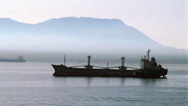 Teretni brod u Gibraltaru - Sputnik Srbija