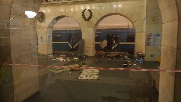Последице експлозије у Санкт Петербургу, Русија - Sputnik Србија