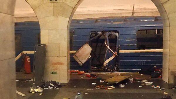 Posledice eksplozije u metrou Sankt Peterburgu, Rusija - Sputnik Srbija