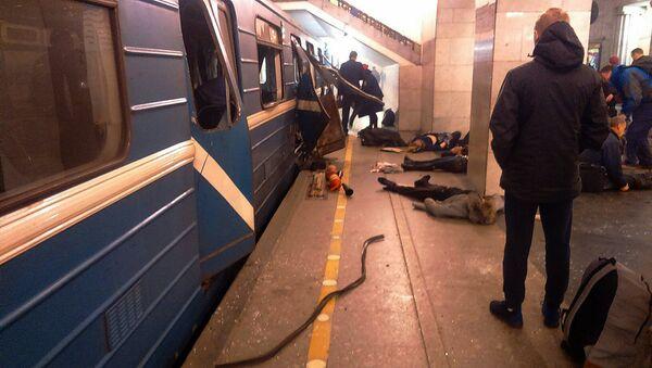 Последице експлозијеу метроу у Санкт Петербургу - Sputnik Србија