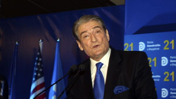 Bivši premijer Albanije Sali Beriša - Sputnik Srbija