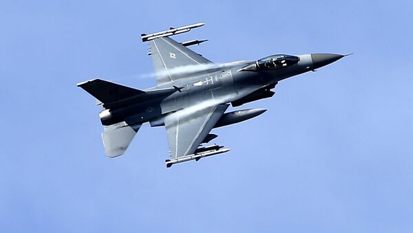 Амерички ловачки авион Ф-16 - Sputnik Србија