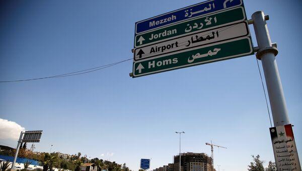 Put od Damaska ka Homsu - Sputnik Srbija
