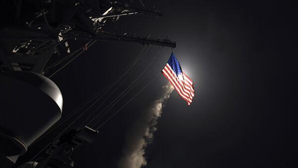 Ракетни напад америчке војске на ваздухопловну базу у Сирији - Sputnik Србија