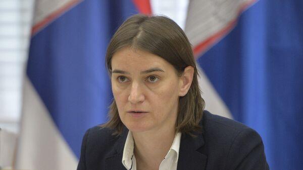 Ана Брнабић министарка државне управе и локалне самоуправе - Sputnik Србија