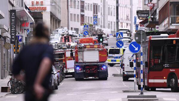 Stokholm posle terorističkog napada 7.aprila 2017. godine - Sputnik Srbija
