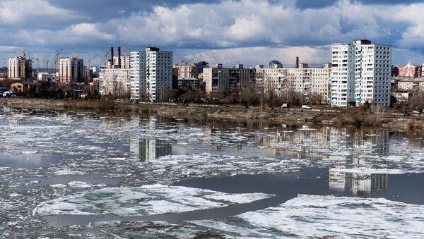 Лед на реци Иртиш у Омску - Sputnik Србија