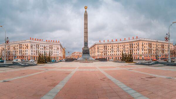 Трг победе у Минску, престоници Белорусије - Sputnik Србија