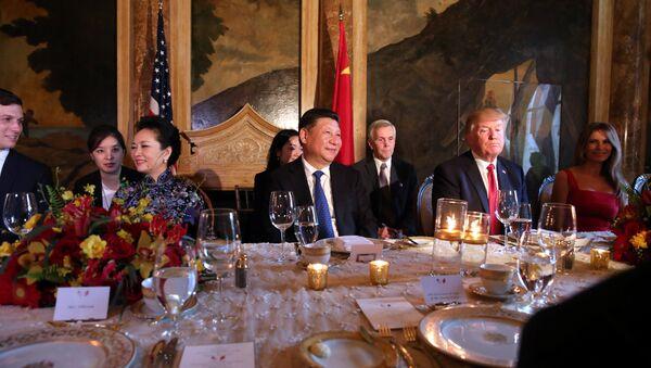 Predsednici SAD i Kine Donald Tramp i Si Đinping - Sputnik Srbija