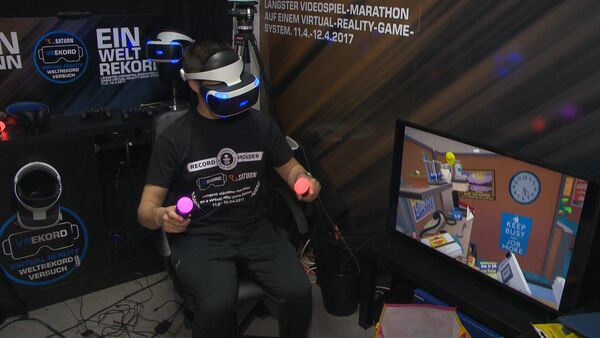 SERB_Австриец стал рекордсменом, играя в видеоигру - Sputnik Србија