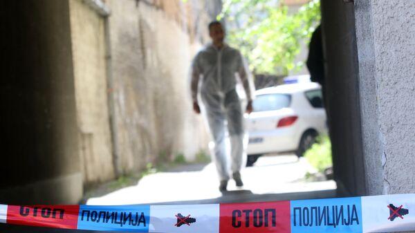 Policija na uviđaju - Sputnik Srbija