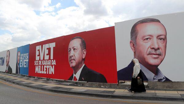 Плакати у Турској пред референдум - Sputnik Србија