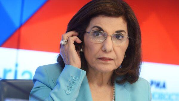 Savetnica predsednika Sirije Busejna Šaban - Sputnik Srbija
