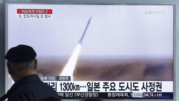 Lansiranje balističke rakete Severne Koreje - Sputnik Srbija